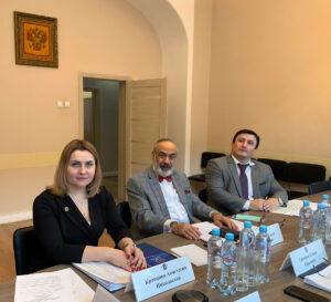 Г.Б. Мирзоев принял участие и выступил на заседании Правления Экспертного центра Ассоциации юристов России