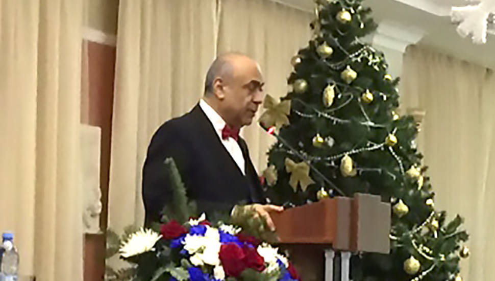Ректор РААН поздравил ростовских коллег с 15-летним юбилеем