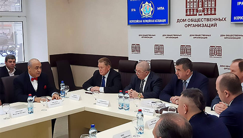 Состоялось заседание Попечительского совета Всероссийской полицейской ассоциации