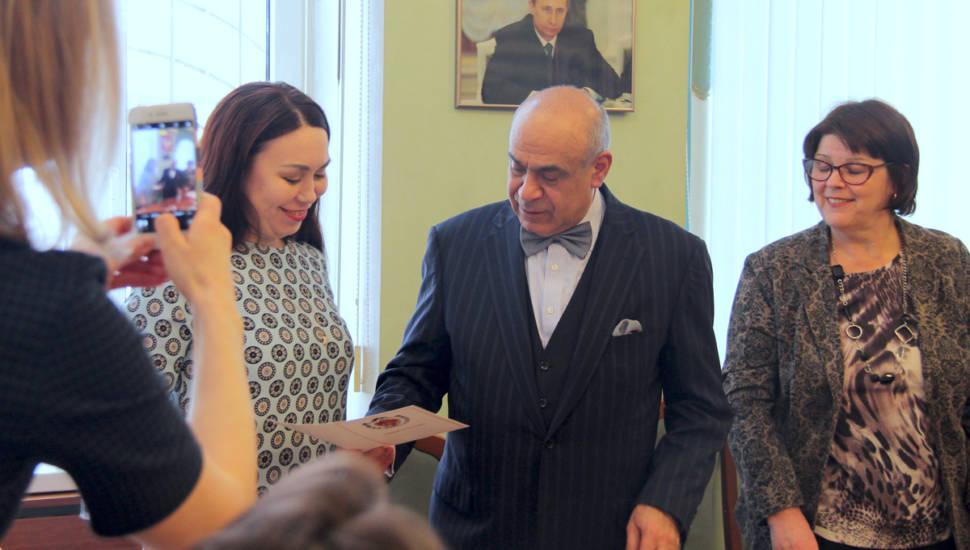 Г.Б. Мирзоев вручил свидетельства слушателям Высших курсов повышения квалификации адвокатов РФ