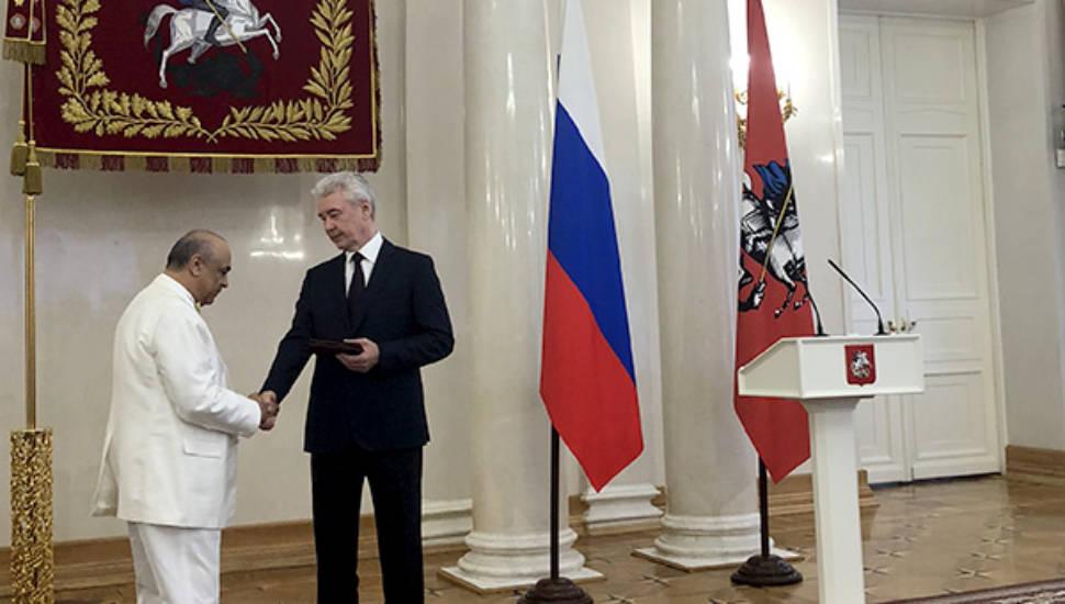 Г. Б. Мирзоеву вручена Медаль ордена «За заслуги перед Отечеством» II степени