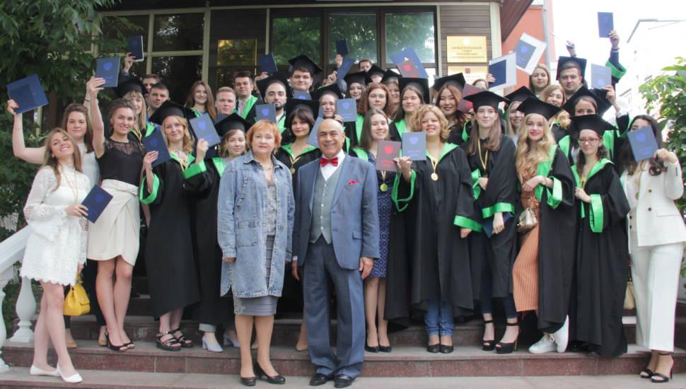 Выпускникам РААН торжественно вручили дипломы бакалавров